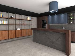 Living Room Gio Studio Cucina moderna