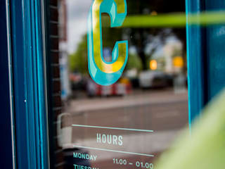 Café Comodo Eclectische bars & clubs van Amsterdam Signpainters Eclectisch