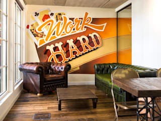 Modern Study Room and Home Office by Amsterdam Signpainters Modern