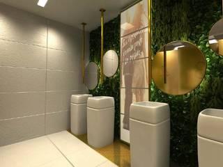 Ro Pinheiro 現代浴室設計點子、靈感&圖片