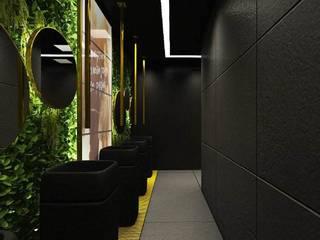 Ro Pinheiro Phòng tắm phong cách hiện đại