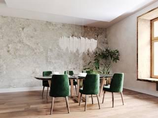 Classic style dining room by DARIA PIKOVA DESIGN COMPANY Classic