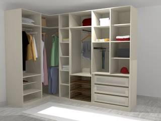 Closet de sonho por Meet Me Interiores Moderno
