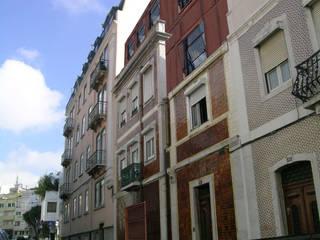 Remodelação profunda de prédio às Amoreiras, Lisboa por Jorge Cruz Pinto + Cristina Mantas, Arquitectos Mediterrânico