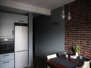 Дизайнер Ольга Айсина Cucina in stile industriale Grigio