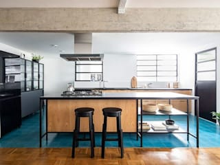 INÁ Arquitetura KitchenCabinets & shelves