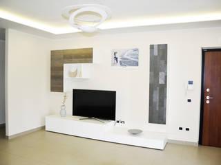 Casa R-F Soggiorno moderno di EthosLab Moderno