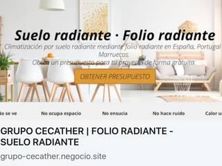od GRUPO CECATHER | FOLIO RADIANTE - SUELO RADIANTE Nowoczesny