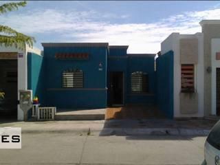 fachadas casas 1 planta ADapta - Arquitectos Mazatlan