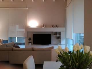 Appartamento Lissone Soggiorno moderno di TREZZI INTERNI SNC DI TREZZI FAUSTO, FRANCESCO E DARIO Moderno