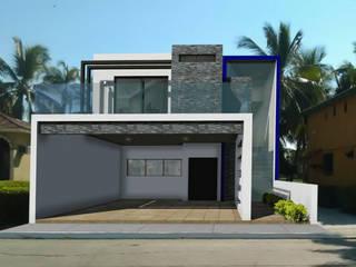 Fachadas de casas ADapta - Arquitectos Mazatlan