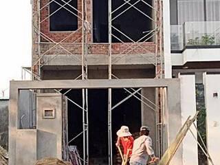 Nhà phố Đà Nẵng - Công trình Mr. Tuấn: hiện đại  by Công ty TNHH Xây dựng & Thương mại Vũ Hưng Thịnh, Hiện đại