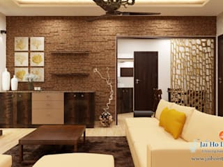 Padappai Project - New Apartment: asian  by RESIDENCE INTERIORS,Asian