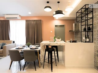 Modern kitchen by Nature Concept Contracts Sdn. Bhd. Modern