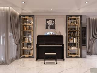 Choáng với mẫu thiết kế nội thất nhà phố Tân Phú đẹp không tưởng bởi Thiết kế nội thất ICONINTERIOR Hiện đại