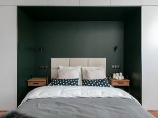 Scandinavian style bedroom by Shelter Architekci Scandinavian