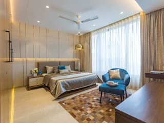 FLAT NO 4601 DESIGNSCAPES BY VIDHI Classic style bedroom