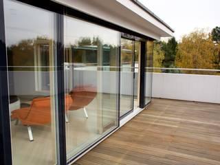 Modern House Nowoczesne okna i drzwi od PPUH PINUS Nowoczesny