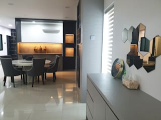 Architectural / Interior Design - Semi D (Jarom) Dterri Interior Design Modern dining room