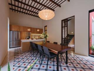 Taller Estilo Arquitectura Salas de jantar modernas