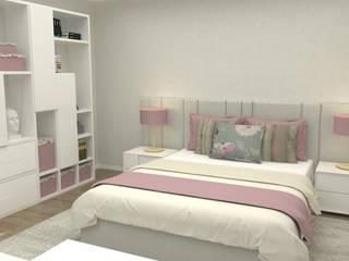 モダンスタイルの寝室 の Casactiva Interiores モダン