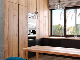 ミニマルデザインの キッチン の Lear design studio ミニマル