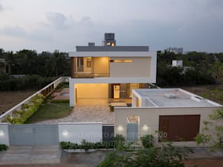 """PAR LE MER"" - A beach house project in Chennai Offcentered Architects Modern houses"