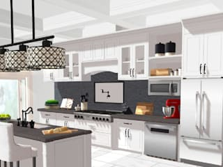 cocina moderna de kikidisegno Moderno