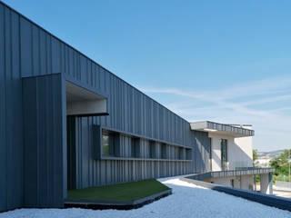 Progettolegno srl Office buildings Wood Grey