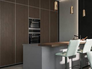 Minimalistische keukens van Lear design studio Minimalistisch