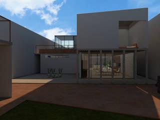 Casa Texcoco de Arqmando taller de arquitectura