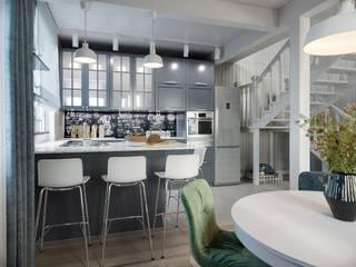 北欧デザインの キッチン の Lear design studio 北欧