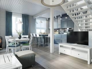 Scandinavische woonkamers van Lear design studio Scandinavisch