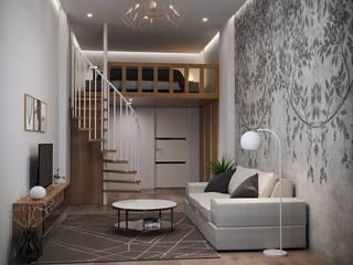 北欧スタイルの 寝室 の Lear design studio 北欧