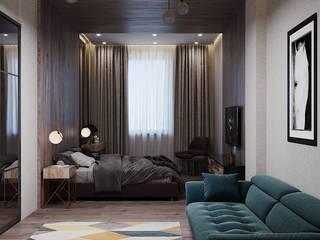 ミニマルスタイルの 寝室 の Lear design studio ミニマル