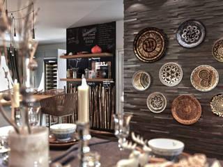 Mutfak ve Yemek Odası Tasarımı Beyza Deniz Yaz Interiors Kırsal/Country