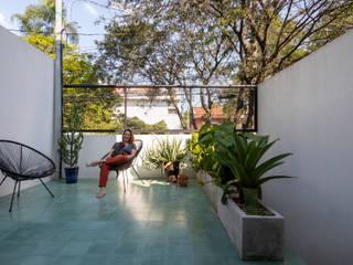 Casa Marcos e Julia INÁ Arquitetura Varandas
