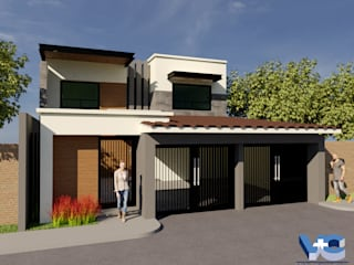 CASA J.L.L. de V+C Arquitectura Moderno