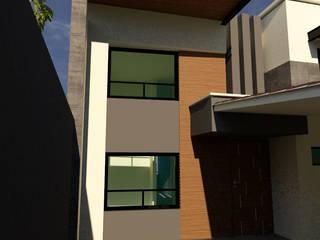 CASA J.L.L. Casas modernas de V+C Arquitectura Moderno