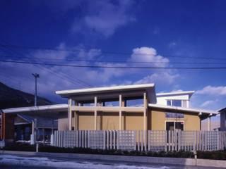 内科医院 モダンな医療機関 の 坂牧建築計画工房 モダン
