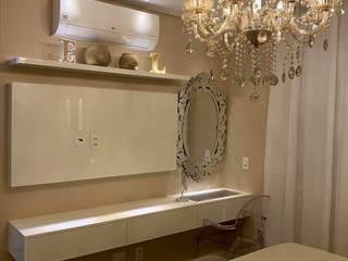 Dormitório Suite Master Novais Mobiliário QuartoArmários MDF Branco