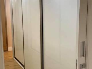 Dormitório Suite Master Novais Mobiliário QuartoArmários Vidro Bege
