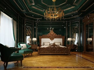 Classic style bedroom by Inan AYDOGAN /IA Interior Design Office Classic