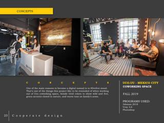 U-co: Co-working Co-living: hiện đại  by LAGOM STUDIO BOX, Hiện đại