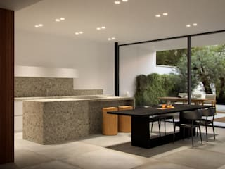 Ampliamento Casa Unifamiliare di marco tassiello architetto Minimalista