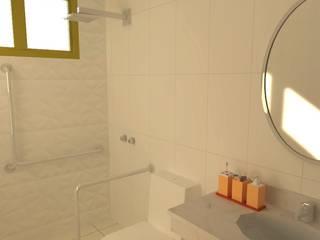 Recanto das Andorinhas - Casa de Repouso Banheiros clássicos por JP GOMES ARQUITETURA Clássico