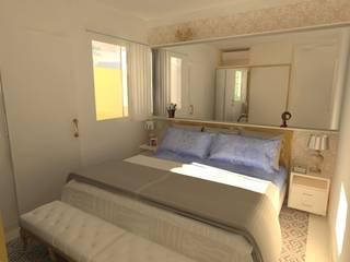 Residência S&M Quartos modernos por JP GOMES ARQUITETURA Moderno