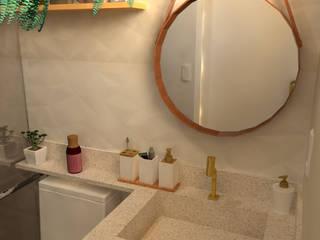 Residência S&M Banheiros modernos por JP GOMES ARQUITETURA Moderno