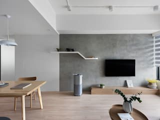 Modern Living Room by 知域設計 Modern