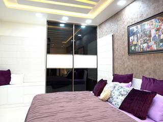 Purple Town, Hyderabad HomeLane.com Small bedroom